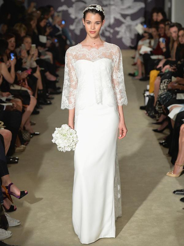 Spring 2015 Bridal Collection - Carolina Herrera - Show